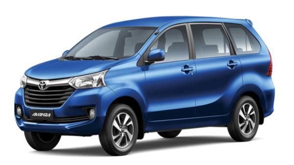 รถยนต์ Toyota Avanza 2018