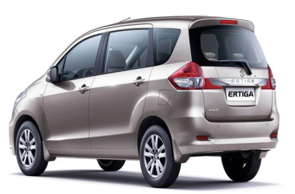 ดีไซน์ภายนอก Suzuki Ertiga 2018