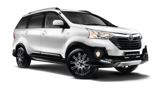 ดีไซน์ภายนอกของ Toyota Avanza X 2018