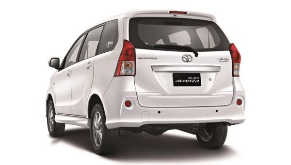 ดีไซน์ภายนอกของ Toyota Avanza 2018