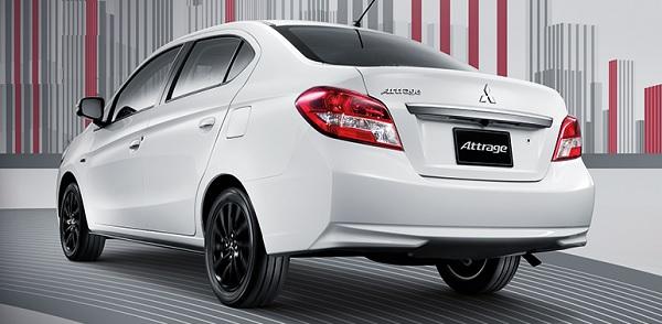 All New Mitsubishi Attrage 2018