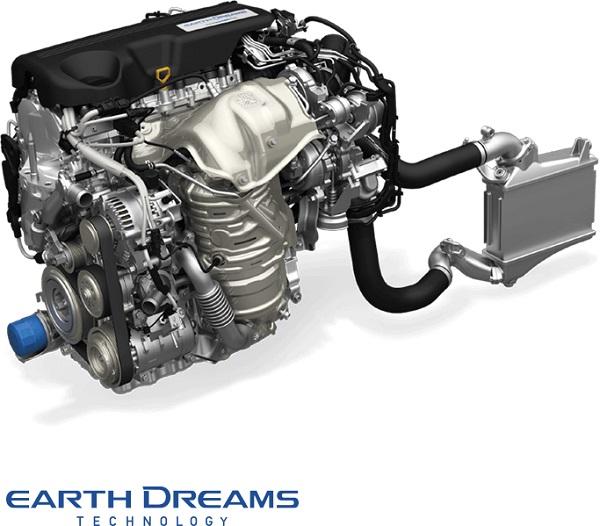 HONDA CR-V 2018-2019 มาพร้อมกับเครื่องยนต์ดีเซล 1.6 ลิตรไอ - ดีเทคเทอร์โบและเครื่องยนต์เบนซิน 2.4 ลิตร DOHC i-VTEC เทคโนโลยี Earth Dreams