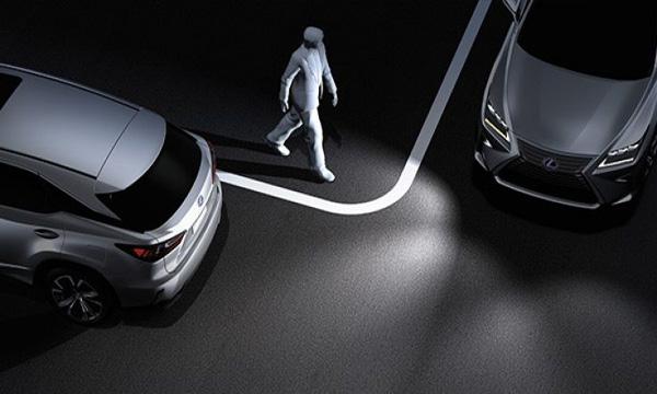 ระบบไฟส่องสว่างด้านมุมของตัวรถ