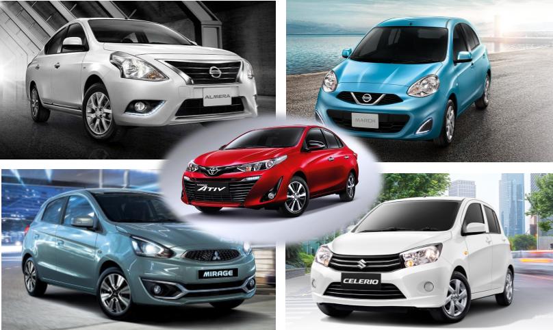 5 อันดับ รถยนต์ราคาถูกและดีในปี 2019