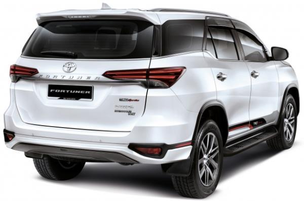 รถยนต์ขายดี Toyota Fortuner 2018