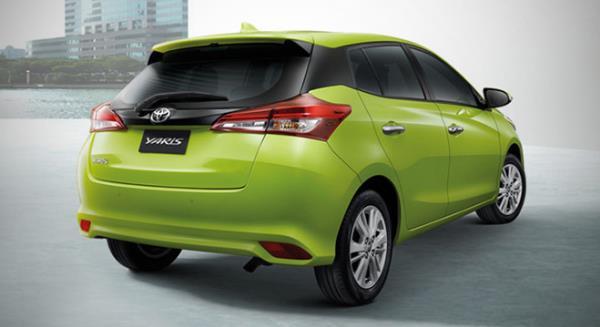 รถยนต์ขายดี Toyota Yaris 2018