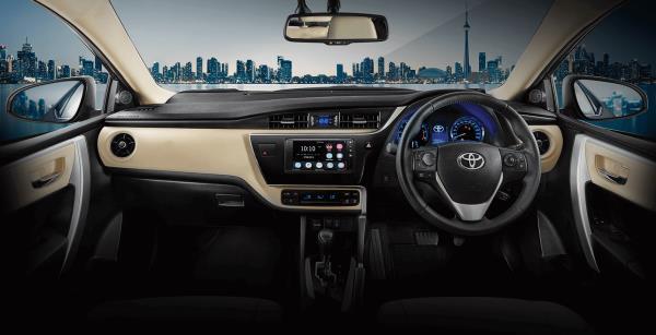 รถยนต์ขายดี Toyota Corolla Altis 2018