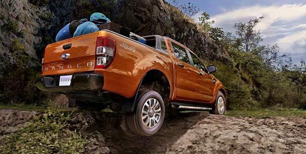 เส้นสายการออกแบบของ Ford Ranger 2018