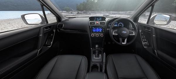 ภายในห้องโดยสารของ All new Subaru Forester 2019