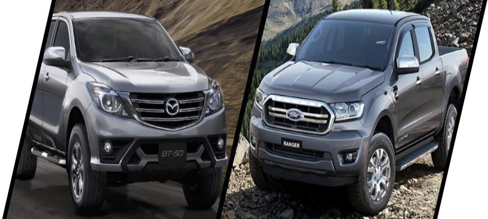 เทียบ Mazda BT-50 Pro 2019 กับ Ford Ranger 2019