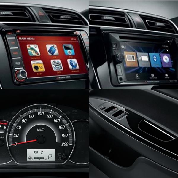 อุปกรณ์อำนวยความสะดวกภายในรถยนต์ Mitsubishi Mirage 2019