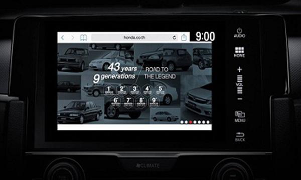 ระบบและฟังก์ชันการใช้งานของ Honda Civic