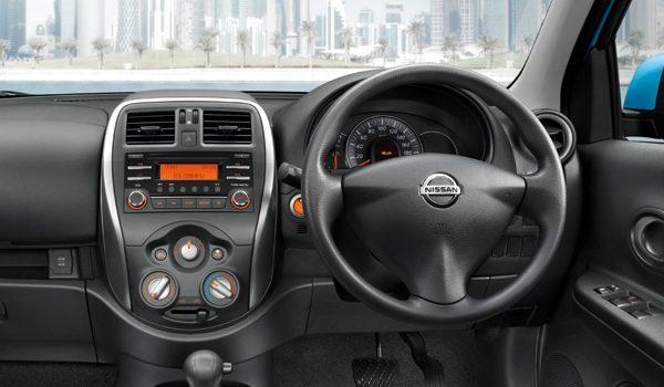 ดีไซน์ภายใน Nissan March 2019