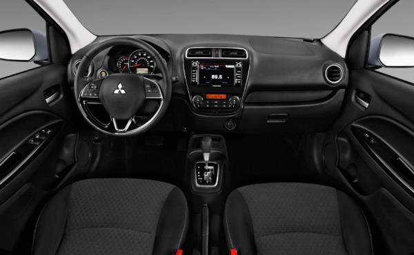 ดีไซน์ภายใน Mitsubishi Mirage 2019