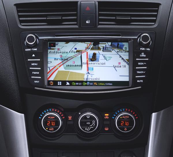 ระบบอำนวยความสะดวกภายในตัวรถ