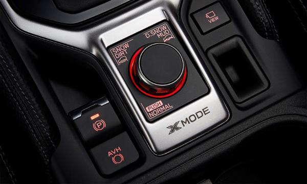 ปุ่มปรับโหมดการขับขี่ X-Mode