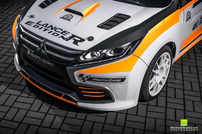 สำนักแต่ง Dytko Sport จากประเทศโปแลนด์ จึงจับเอา Evo X รุ่นสุดท้าย