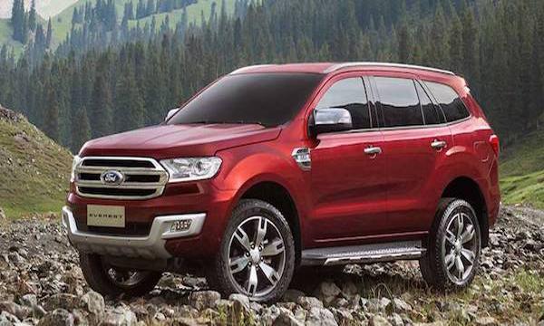 Ford Everest 2019