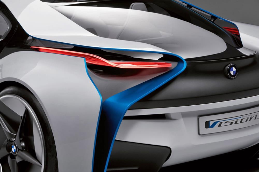 BMW Vision EfficientDynamics ถือว่าเป็น showcase ในเรื่องเทคโนโลยีไฮบริดของ BMW