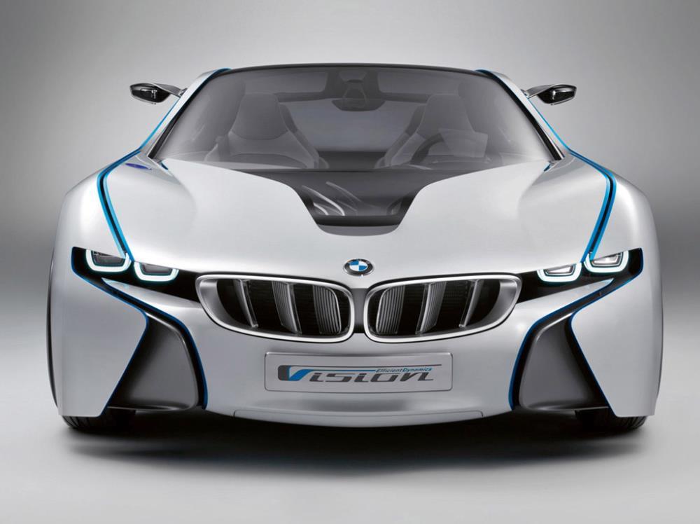 BMW Vision EfficientDynamics รถไฮเทคโชว์ตัวจริงในงาน Frankfurt Motor Show
