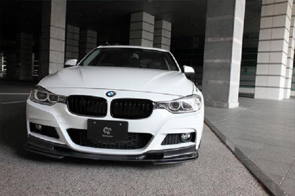 BMW series 3 F30 กับชุดแต่งรอบคันจากค่าย M-Sport ทรง 3D Design สุดเฉียบ