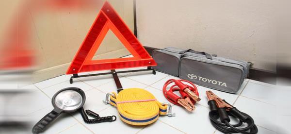 อุปกรณ์พื้นฐานที่ควรมีติดรถ