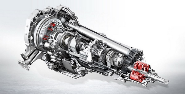 ด้านขุมพลังใน Audi A4 2019  จัดเต็มกับเครื่องยนต์เบนซิน 4 สูบ DOHC 16 วาล์ว 1,984 ซีซี.