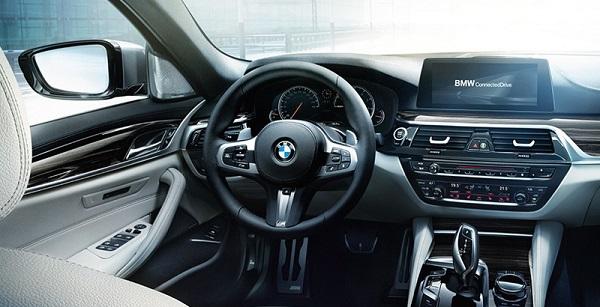 ความหรูหราจากการออกแบบภายใน กับความทันสมัยใน BMW 5-Series 2019