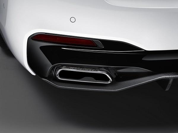 BMW M Performance silencer สำหรับซีรีส์ 5 G30 รุ่น 530i, 540i, 540i xDrive, 530d, 530d xDrive