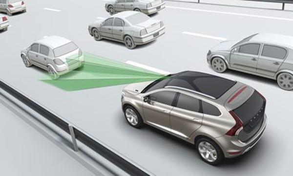 ระบบป้องกันการชนขณะขับขี่ด้วยความเร็วต่ำแบบ City Safety System