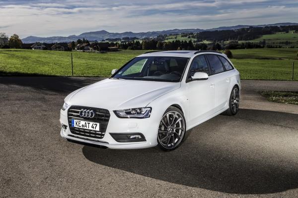 การออกแบบและตกแต่ง Audi A4 2019