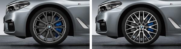 """ล้ออัลลอยด์ที่มีน้ำหนักเบาของ BMW ขนาด19"""" และ  20"""""""