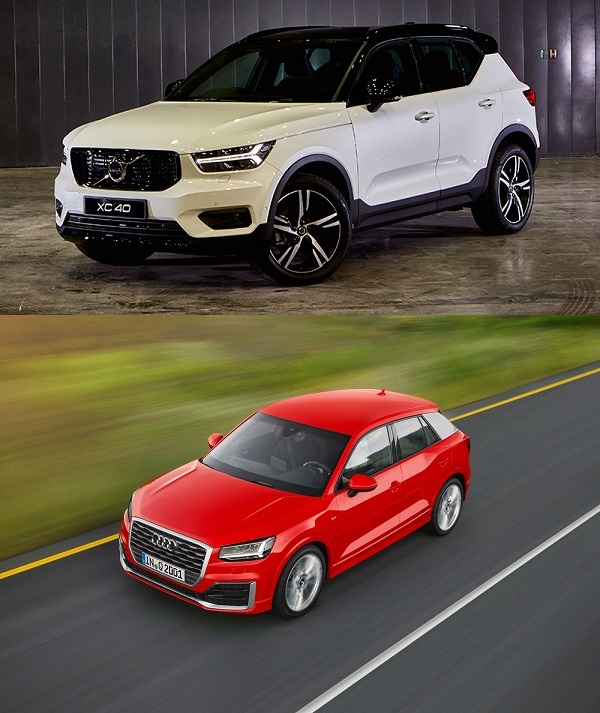 เทียบทุกมิติมุมมองระหว่าง Volvo XC40 2019 กับคู่แข่ง Audi Q2 2019