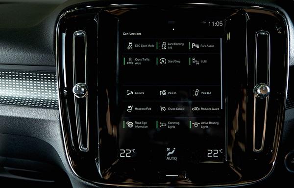 ความลงตัวในการใช้งานที่ตอบโจทย์อย่างอัจฉริยะใน Volvo XC40 2019