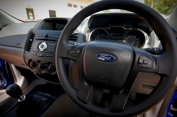 ดีไซน์ภายในของ Ford Ranger