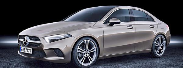รถยนต์ซีดาน 4 ประตู All-New Mercedes-Benz CLA 2019