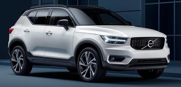 ด้านหน้า The new Volvo XC40 (2019)