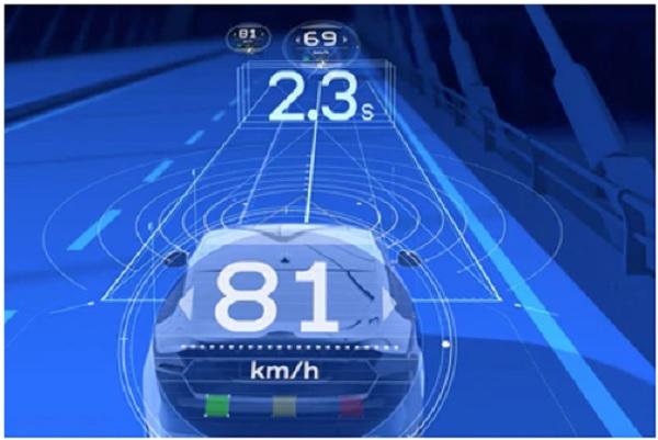 ระบบควบคุมความเร็วรถอัตโนมัติแบบปรับเปลี่ยนได้