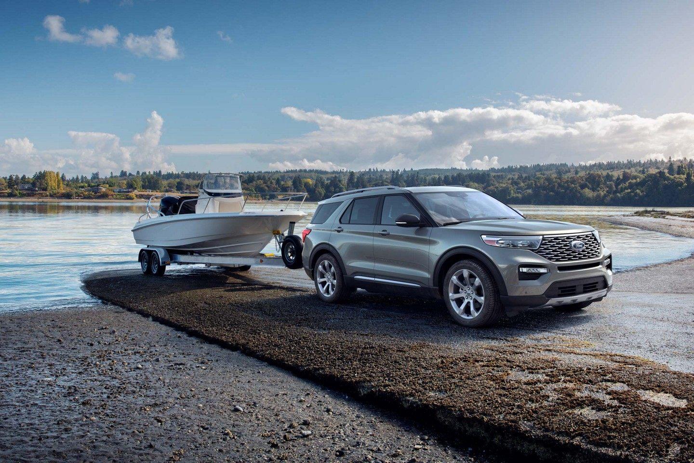 Ford Explorer 2020 สามารถลากจูงได้มากถึง 5,000 ปอนด์
