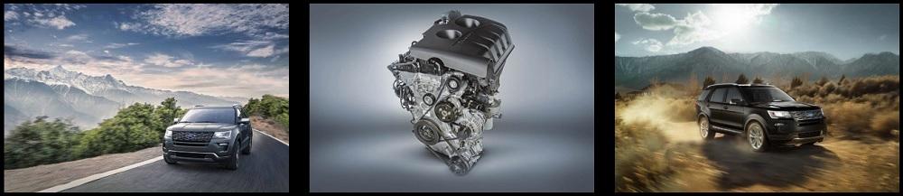 Ford Explorer 2020 มาพร้อมกับเครื่องยนต์สามรุ่นที่มีมาให้คุณเลือกให้เหมาะสมกับความต้องการและการขับขี่  มีทั้งเครื่องยนต์ EcoBoost ®ขนาด 3.5 ลิตรและ 2.3 ลิตรและ Ti-VCT V6 3.5