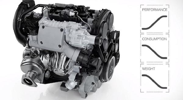 Volvo V40 2019 มาพร้อมกับเครื่องยนต์ Drive-E เบนซิน 2 ลิตร 4 สูบ เทอร์โบ