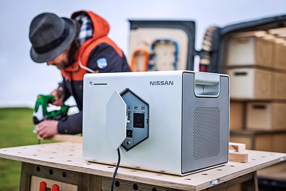 """ซึ่งสามารถชาร์จไฟด้วยแสงอาทิตย์ได้ด้วยแผงโซลาเซลล์บนหลังคา ในแบบแหล่งพลังงาน """"Off-Grid"""" Power Solution"""