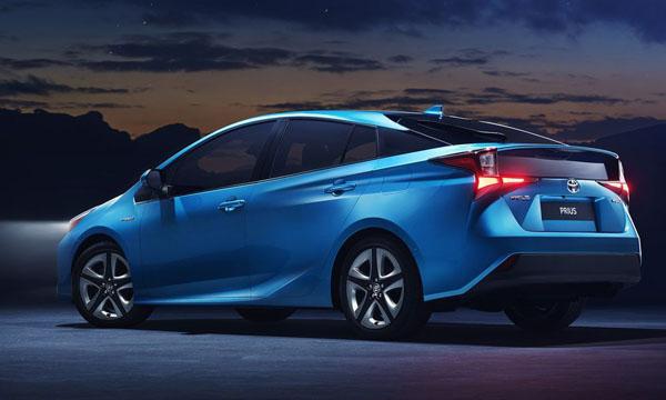 ด้านข้าง Toyota Prius Hybrid 2019