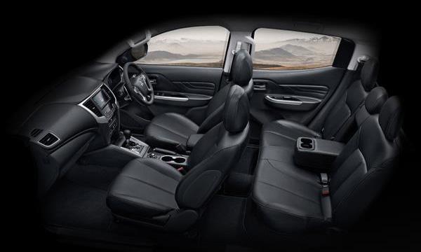 ภายในห้องโดยสารของ Mitsubishi Triton Double Cab 2019