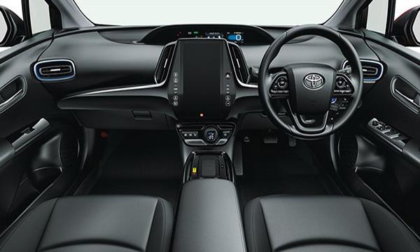 ภายในห้องโดยสาร Toyota Prius Hybrid 2019