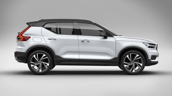 ดีไซน์ภายนอกของ Volvo XC40 2019
