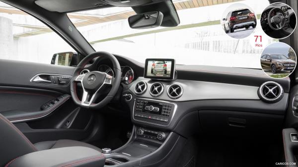 ดีไซน์ภายในห้องโดยสารของ Mercedes-Benz GLA 2019