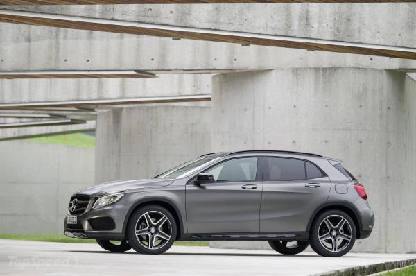 ดีไซน์ภายนอก Mercedes-Benz GLA 2019