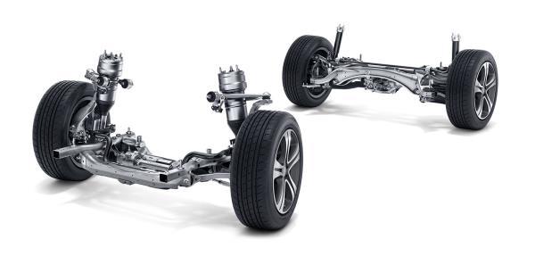 การออกแบบช่วงล่างของ Mercedes-AMG E-Class 2019