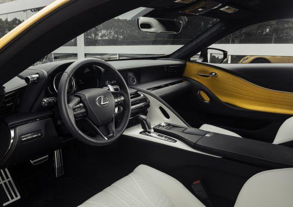 ดีเทลการออกแบบของ Lexus LC 500